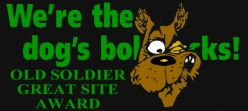 Awarded on May 14, 2002, Old Soldier's Site Closed