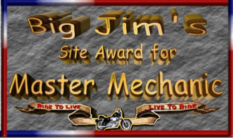 Awarded on June 29, 2002, click award to visit Big Jim's Hawg Pages