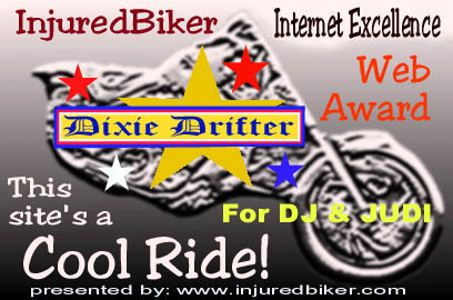 Awarded on August 15, 2002, Click on award to visit Injured Biker