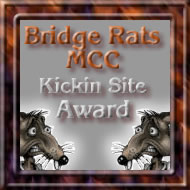 Awarded on December 11, 2002, click on award to visit Bridge Rats MCC