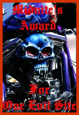 Awarded on February 17, 2003, click on award to visit Outlaw Bikers Forever